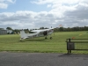Plane ready for skydive