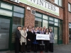 Cheque handover to Galway Hospice